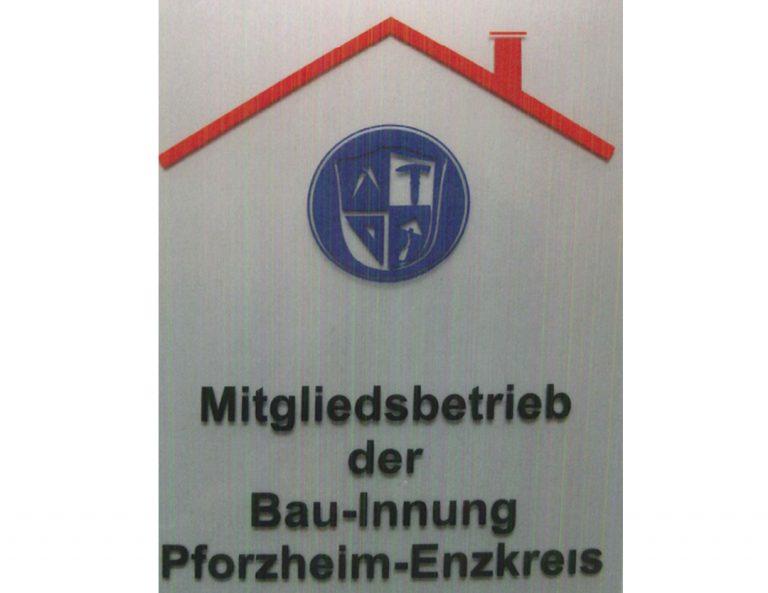 Mitglied der Bau-Innung Pforzheim
