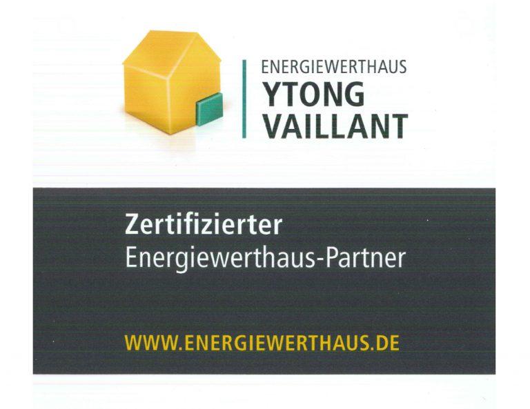 Wir sind Energiewerthaus-Partner